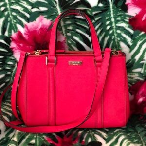 Kate Spade Loden shoulder bag purse pink EUC